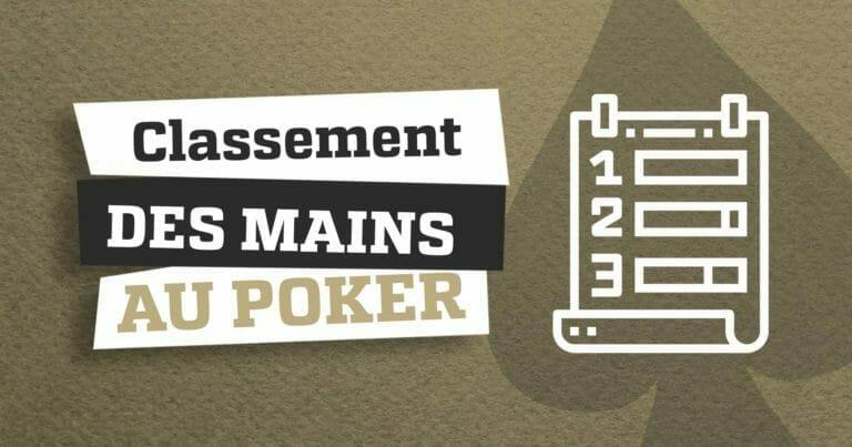Quelle est la meilleure combinaison au poker?