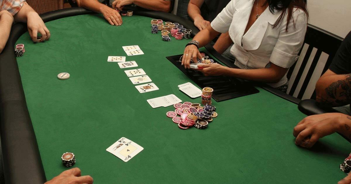 première partie poker