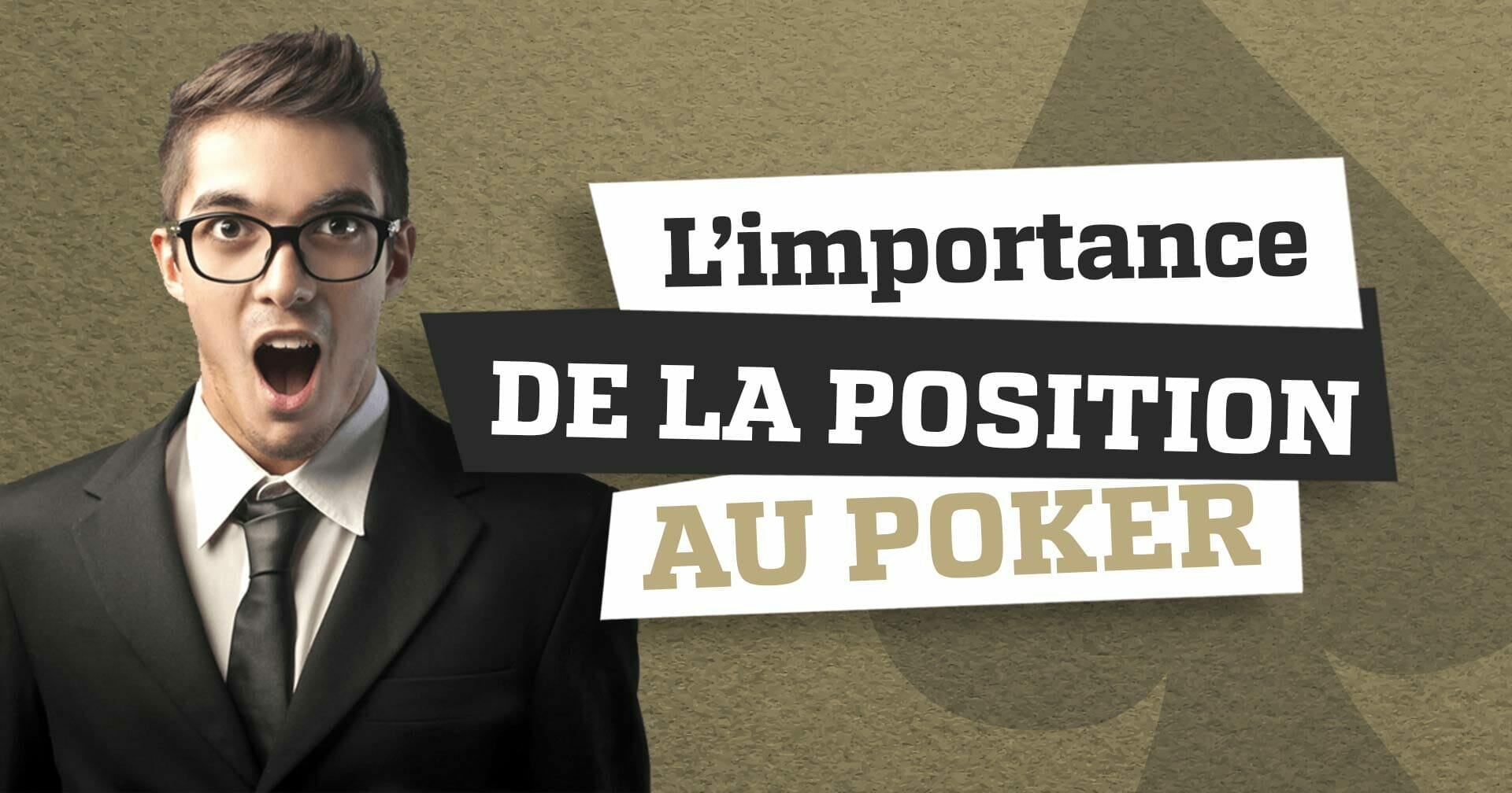 importance position poker