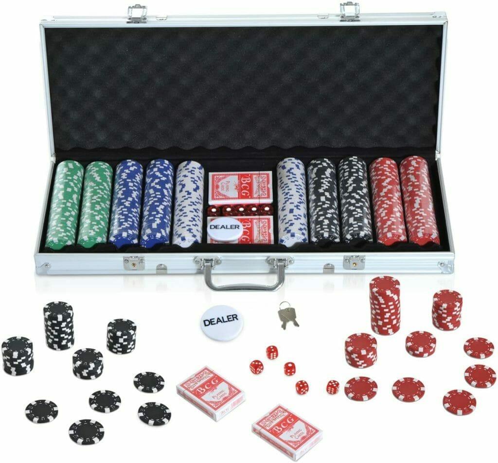 coffret jetons poker